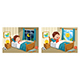 Vector Illustration of Kid Sleeping - GraphicRiver Item for Sale