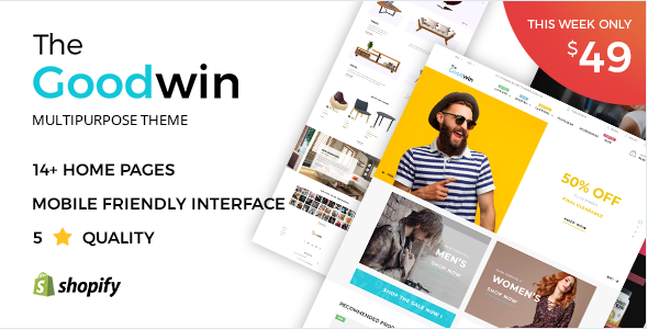 Goodwin - Shopify Theme Nulled