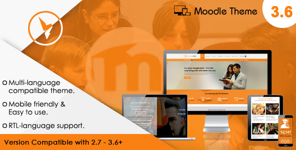 LearningZone - Responsive Moodle Theme by cmsbrand