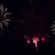 Free Download New year concept - cheering crowd and fireworks Nulled