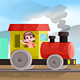 Kids on Train Illustraion - GraphicRiver Item for Sale