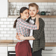 young straight couple on kitchen - PhotoDune Item for Sale