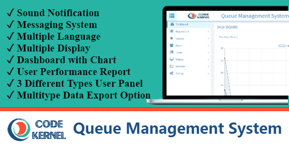 Queue Management System - CodeCanyon Item for Sale