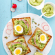 Toasts with avocado guacamole - PhotoDune Item for Sale