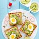 Toasts with avocado guacamole - PhotoDune Item for Sale