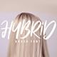 Hybrid Brush Font - GraphicRiver Item for Sale