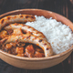 Thai red curry with sausages - PhotoDune Item for Sale