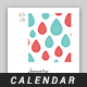 2019 Calendar Template - GraphicRiver Item for Sale