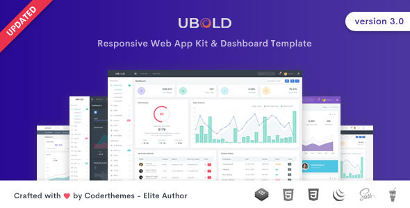 Ubold - Responsive Admin Dashboard & Web UI Kit Template