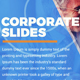 Free Download Corporate Slides Nulled
