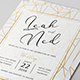 Geometric Wedding Invitation - GraphicRiver Item for Sale
