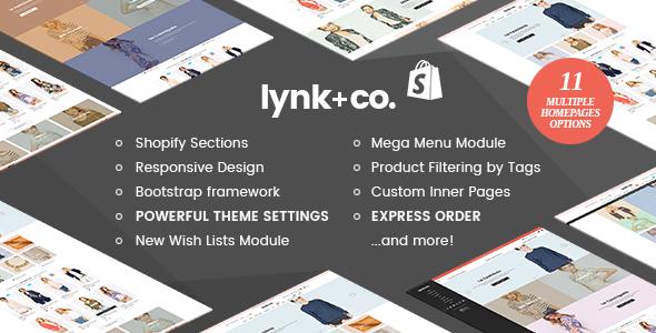 Lynk+Co - Responsive Fashion Shopify Theme (Sections Ready) - Fashion Shopify