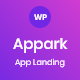 Appark – App Landing WordPress Theme
