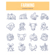 Farming Doodle Icons - GraphicRiver Item for Sale