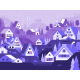Snow Winter Village Landscape - GraphicRiver Item for Sale