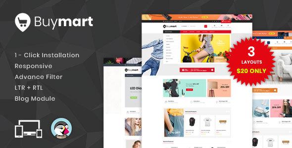 Buymart - Responsive Prestashop 1.7 Theme