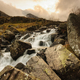 Mountain Cascade in Snowdonia Wales UK - PhotoDune Item for Sale