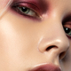 Free Download Young beautiful woman with fashion make up Nulled