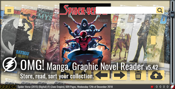 OMG Manga, Graphic Novel & Comic Reader - CodeCanyon Item for Sale