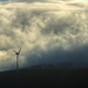 Free Download Wind turbine in the fog Nulled