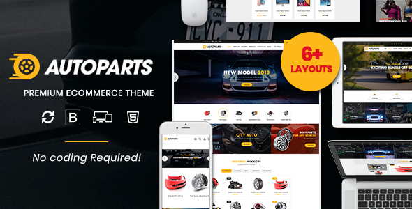 AutoParts – The Auto Parts, Tools, Equipments and Accessories Store Shopify Theme with Sections - Shopify eCommerce