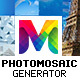 PhotoMosaic Generator - Photoshop Extension - GraphicRiver Item for Sale