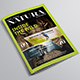 Natura Magazine Template - GraphicRiver Item for Sale