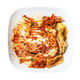 top view of kimchi in white bowl isolated - PhotoDune Item for Sale