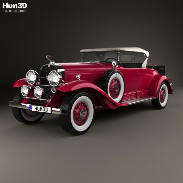 Cadillac V-16 Roadster 1930