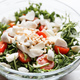 Arugula salad with pine nuts and cherry tomatoes. - PhotoDune Item for Sale