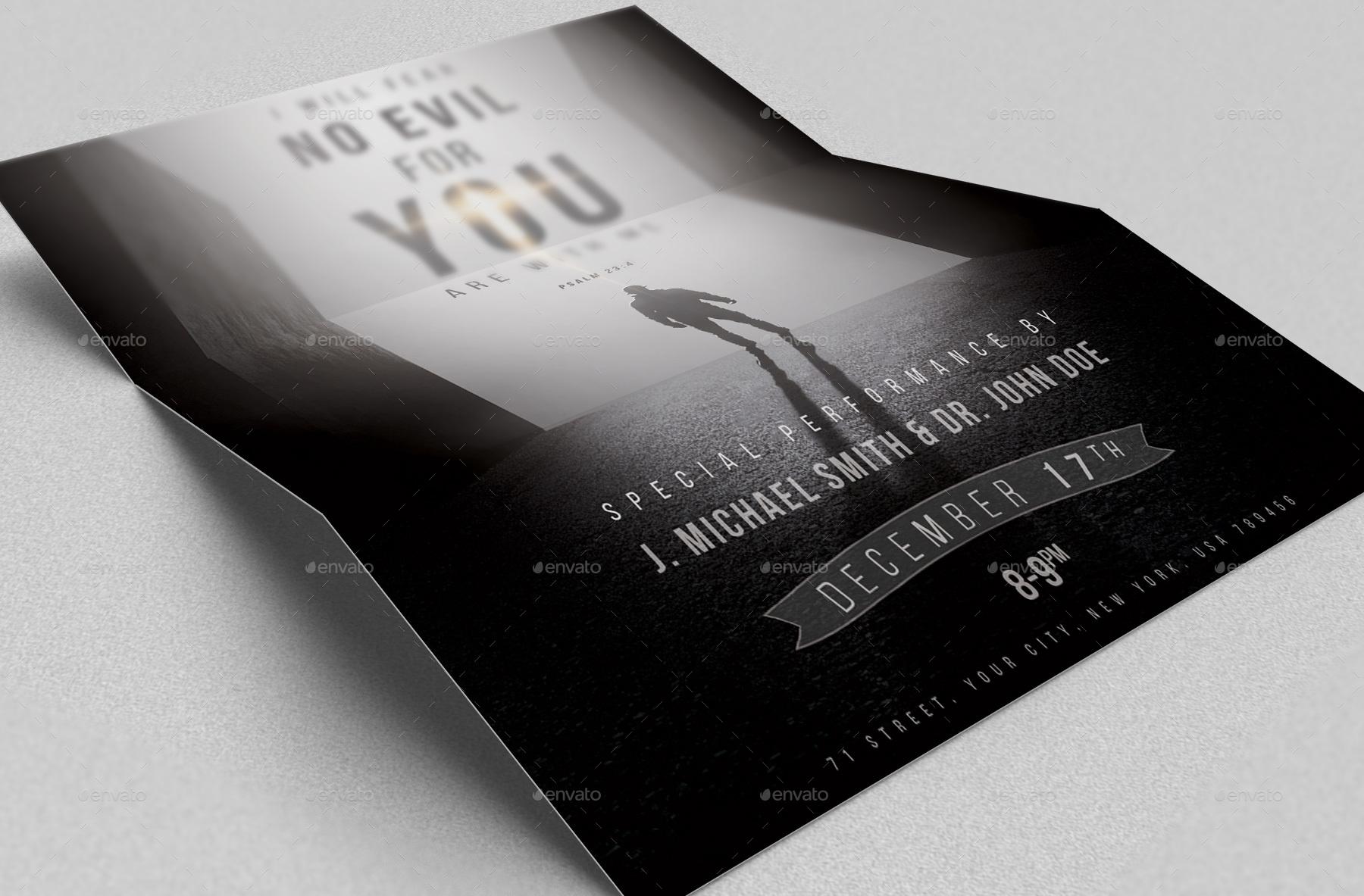 I Will Fear No Evil Poster