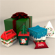 Gift Christmas Boxes - 3DOcean Item for Sale