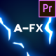 Free Download AFX Pack 2: Electric for Premiere Pro Nulled