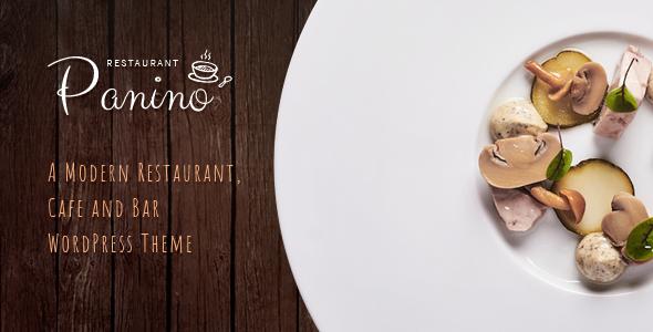 Panino - A Modern Restaurant and Cafe WordPress Theme - Restaurants & Cafes Entertainment