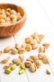The pistachio nuts. - PhotoDune Item for Sale