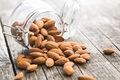 Dried almond nuts. - PhotoDune Item for Sale