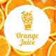 Orange Juice Logo Template - GraphicRiver Item for Sale