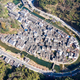 aerial view of ancient jujing village in wuyuan county, jiangxi province, China - PhotoDune Item for Sale