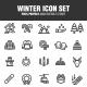 Winter Icon Set (Set 3) - GraphicRiver Item for Sale