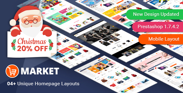 Market - Responsive Multipurpose PrestaShop 1.6 and 1.7 Theme - Shopping PrestaShop