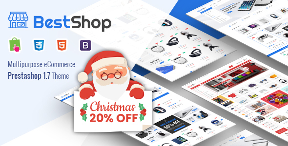 BestShop - Responsive PrestaShop 1.7 Digital/Furniture Store Theme - Shopping PrestaShop