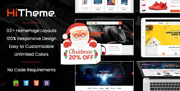 HiTheme - Wonderful Responsive PrestaShop 1.7 Theme - PrestaShop eCommerce