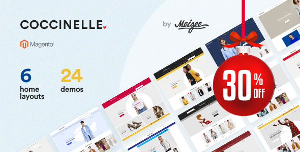 Coccinelle - Multi-Purpose Responsive Magento 2 and Magento 1 Theme - Magento eCommerce