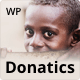 Donatics - Charity & Fundraising WordPress Theme