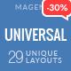 Universal - Multi-Purpose Responsive Magento 2.2 and Magento 1 Theme - ThemeForest Item for Sale