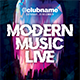 Modern Music Live Flyer - GraphicRiver Item for Sale