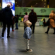 Baby boy standing alone in the airport departure hall - PhotoDune Item for Sale