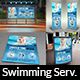 Swimming Pool Cleaning Service Advertising Bundle Vol.2 - GraphicRiver Item for Sale