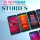 Free Download Christmas and New Year I Instagram Stories Nulled