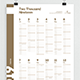 Calendar 2019 Poster - GraphicRiver Item for Sale